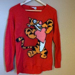 H&M Divided Disney Tigger Sweater